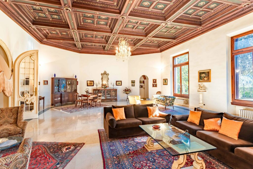Apartment in villa in panoramic area – Florence